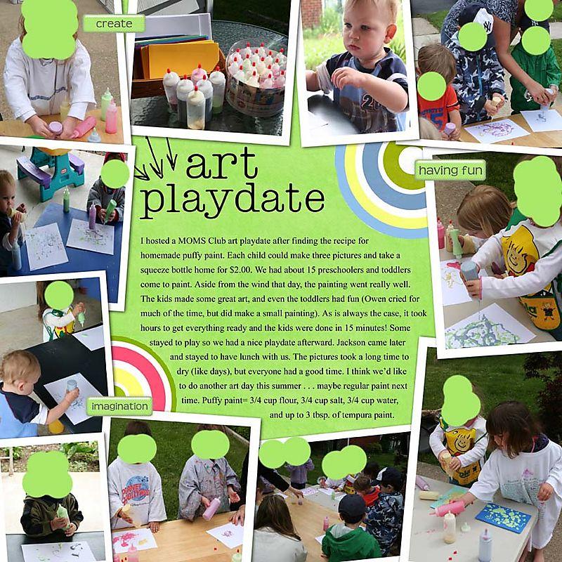Art playdate web