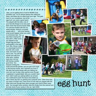 Egg hunt jake