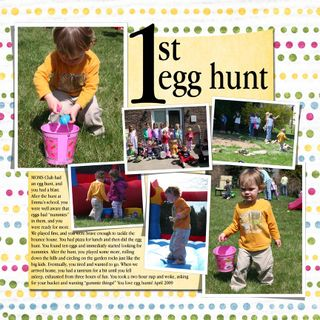 Egg hunt owen